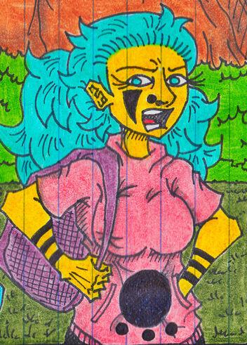 Alexandrah (Color Spread)