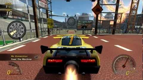 Flatout Ultimate Carnage Stunts - Darts