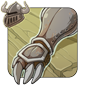 Dented Iron Gauntlets