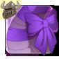 Pretty Purple Neck Bow