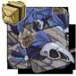 Blue Feathered Bones