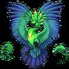 Peacock Firebird