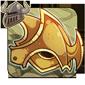 Burnished Gold Helmet