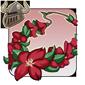 Red rose lei