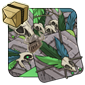 Green Feathered Bones
