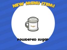 Papa's Pancakeria - Powdered Sugar