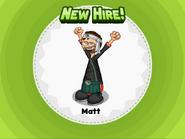 New Hire! Matt
