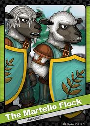 074 The Martello Flock