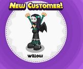 Willow on halloween