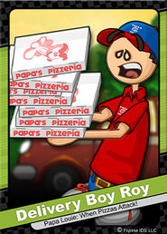 016 delivery boy roy