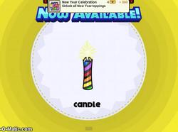 Papa's Cupcakeria - Candle