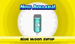 Blue moon syrup unlocked