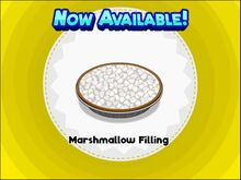 Unlocking marshmallow filling