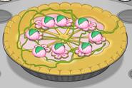 Sakura blossom pie