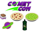 Comet Con Ingredients - Bakeria