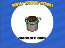 Unlocking papa freeze chocolate chips