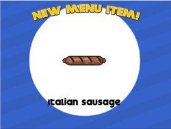 Italian sausage unlocked