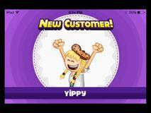 Yippy new customer