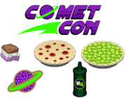 Comet Con Ingredients - Bakeria