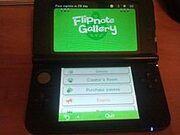 Flipnote Gallery english