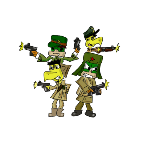 File:The zombie slaying four by iggykoopa14-d4qr5cw.png