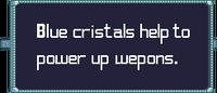 Blue cristilas