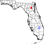 150px-Map of Florida highlighting Bradford County svg