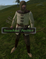 Swadian archer