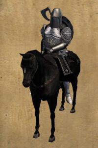 Black Khergit Horseman
