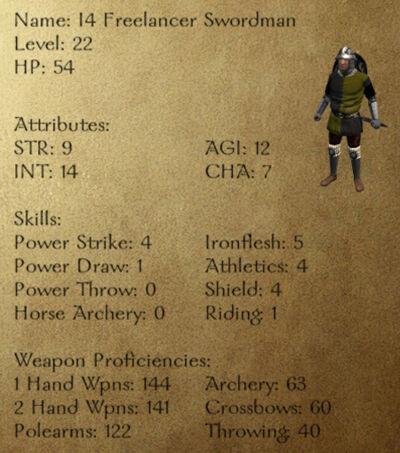 I4 Freelancer Swordman