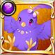 Kaika tori purple icon