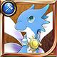 Shinka ryuu 20 year blue icon