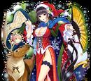 Tall Stewartia (Christmas)