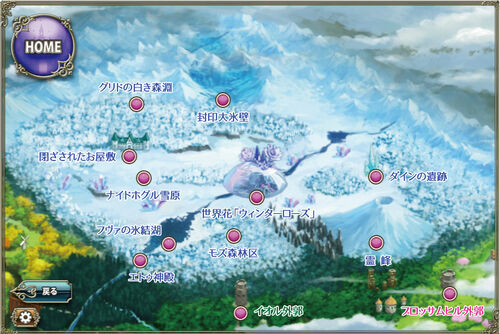 Winter Rose Map