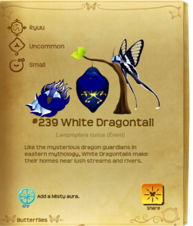 White Dragontail§Flutterpedia