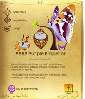 Purple Emperor§Flutterpedia UpgradedAlt