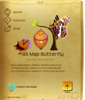 Map Butterfly§Flutterpedia