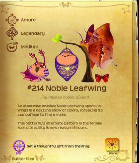Noble Leafwing§Flutterpedia UpgradedAlt