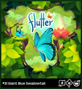 Giant Blue Swallowtail§Loading Screen