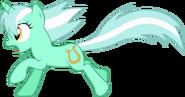 Lyra running