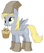 74989 - Paper Bags artist bizcuit costume derpy hooves muffins