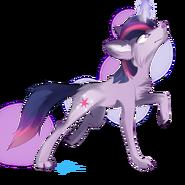 Wolf twilight sparkle by affanita-d5ief8c