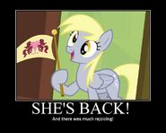 Derpy's back!