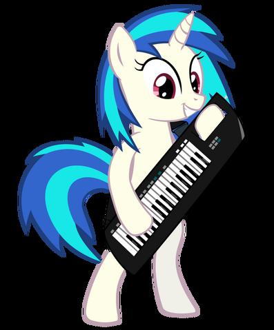 File:Vinyl scratch keytar by ninjamissendk-d50lyf2.png