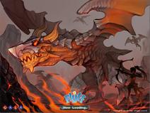 Volkane Dungeon Loading Screen