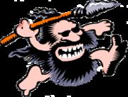 Running Caveman 1-clipart