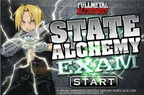 State Alchemy Exam Flash