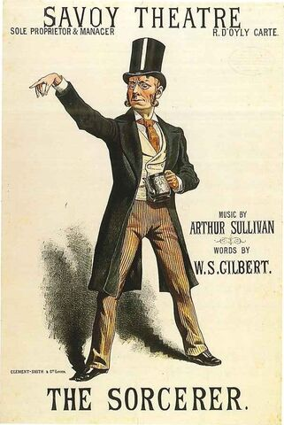 File:The Sorcerer poster with J. W. Wells (1884 revival).jpg