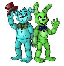 Cartoon Leobear And Achillies