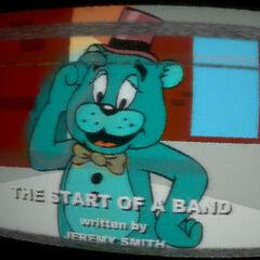 Cartoon Leobear When The Show First Aired.